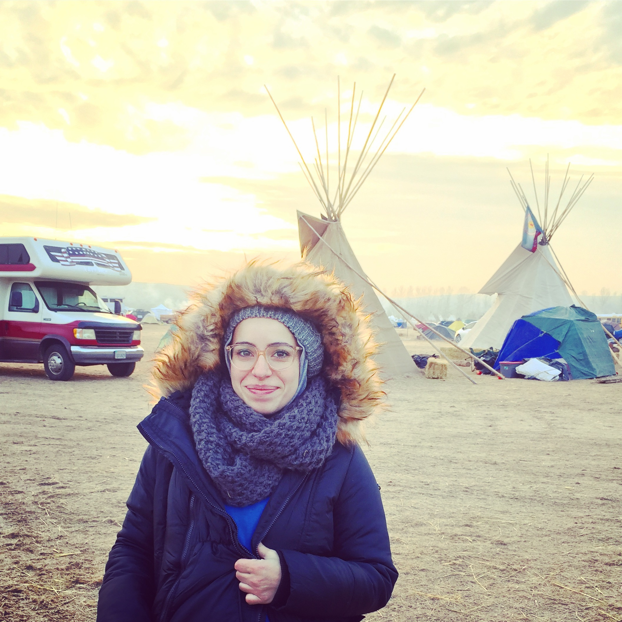 Muslimah at Standing Rock: An interview with Mona Haydar