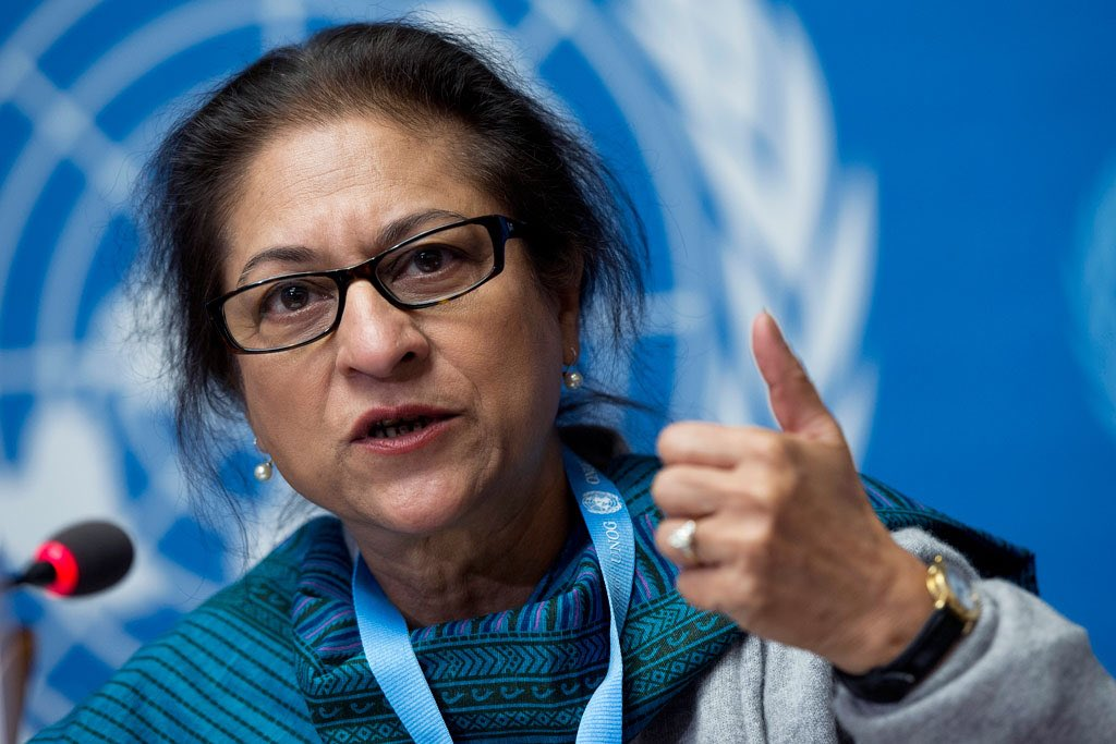The Irreplaceable Asma Jehangir